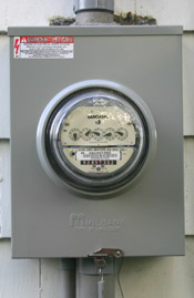 Home Electric Meter with no disconnect